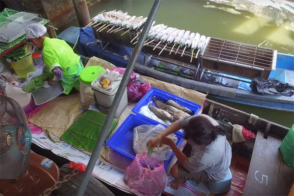 chợ nổi bangkok 2