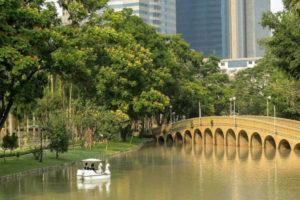 Công Viên Lớn Nhất Tại Thủ Đô Bangkok, Thái Lan