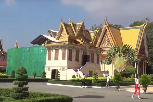 cung điện oudong