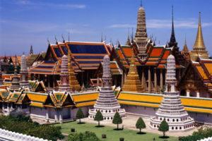 Công Trình Kiến Trúc Cung Điện Tại Thái lan