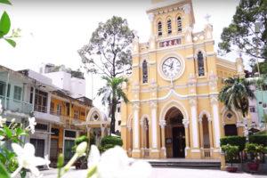 Những Nhà Thờ Sài Gòn Góp phần Tạo Nên Đặc Sắc Đô Thị