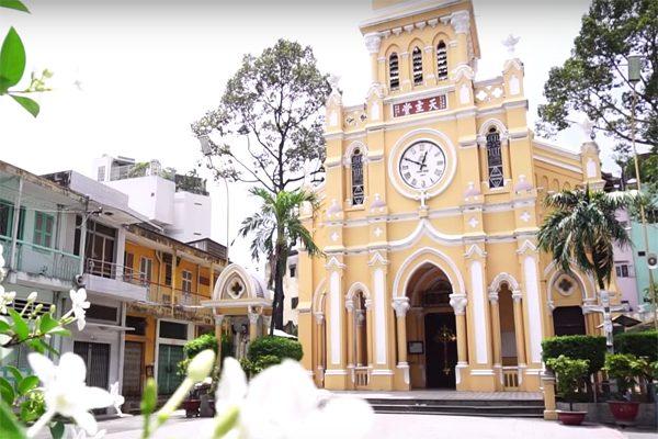 nhà thờ tam cha