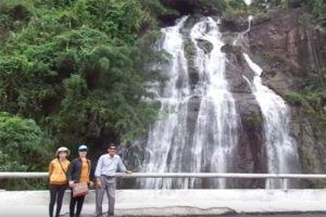 Ngắm Cảnh Thác Nước Bà Hoàng Monique, Quảng Nam