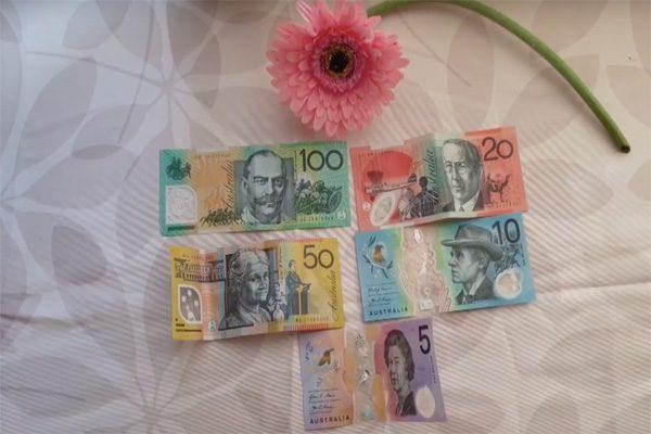 tiền tệ úc 1