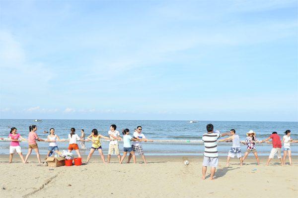 bãi biển hải hoà