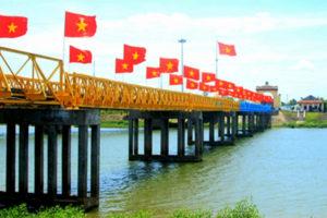 Cầu Hiền Lương – Cây Cầu Đi Vào Lịch Sử Dân Tộc