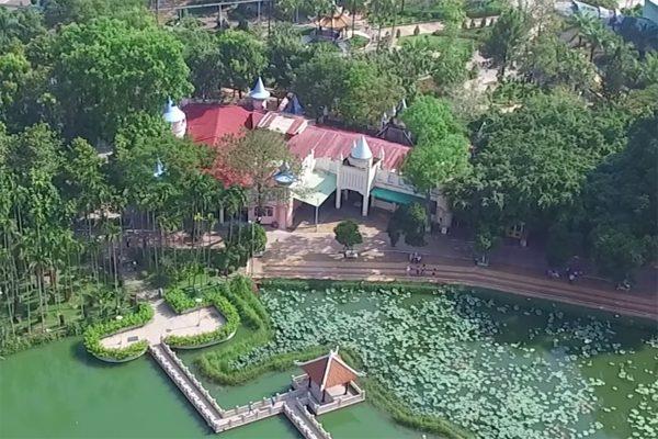 công viên đầm sen 1