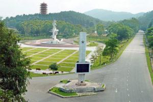 Khu Di Tích Lịch Sử Ngã Ba Đồng Lộc.