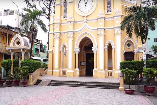 nhà thờ cha tam