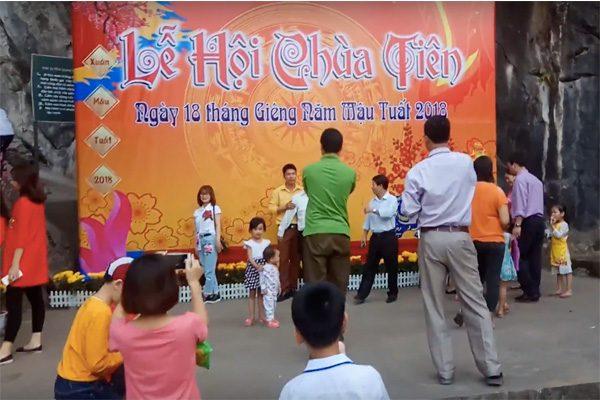 lễ hội chùa tiên