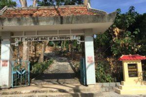Thăm Mộ Bác Sỹ Alexandre Yersin, Tại Khánh Hoà.