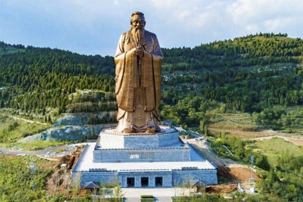tượng thờ khổng tử