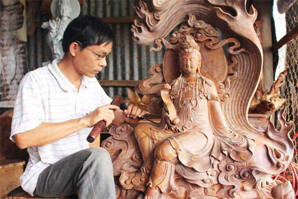 điêu khắc gỗ 1