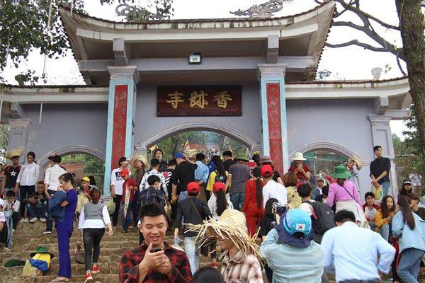 hội chùa hương tích