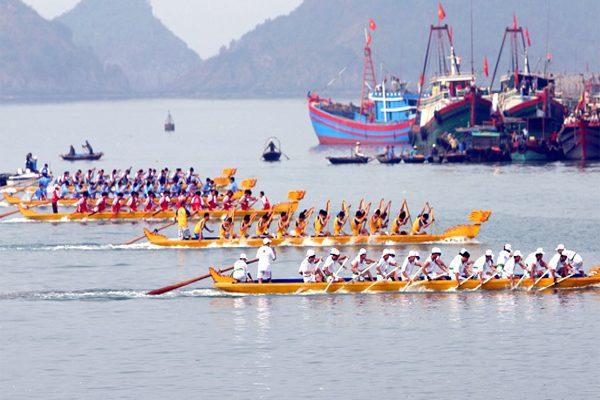lễ hội đua thuyền 1
