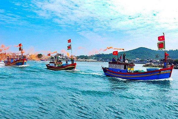 lễ hội nghề cá