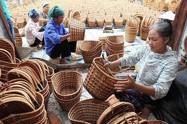 nghề đan lát