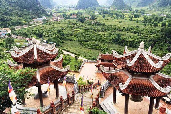 chùa phát tích trúc lâm