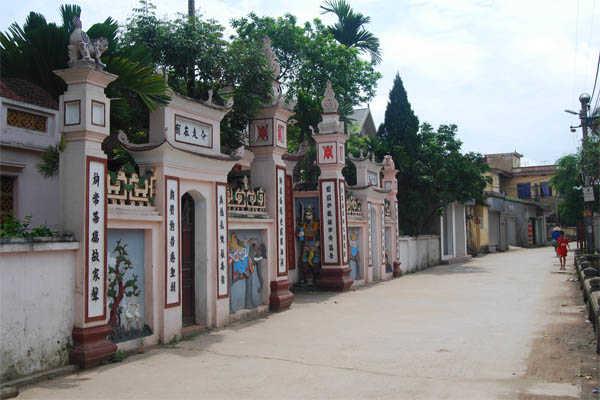 làng nhị khê