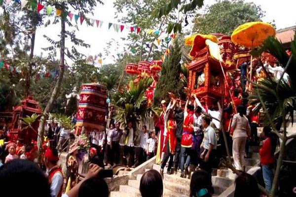 lễ hội chùa trăm gian