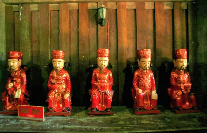 tượng phật tại chùa keo thái bình