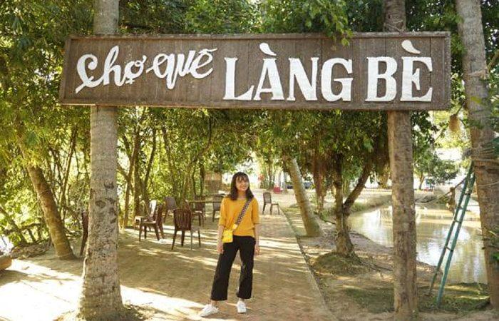 khu du lịch làng bè
